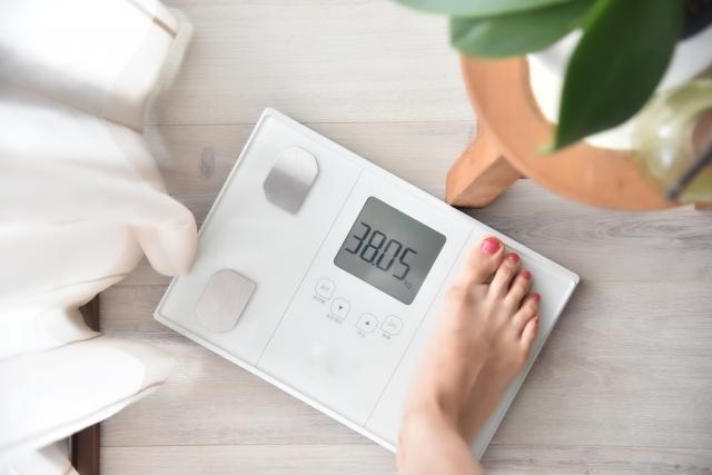 体重が減少する原因