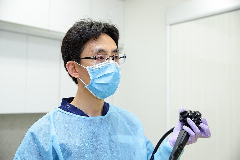便潜血検査陽性の方の2次検査を受けられます